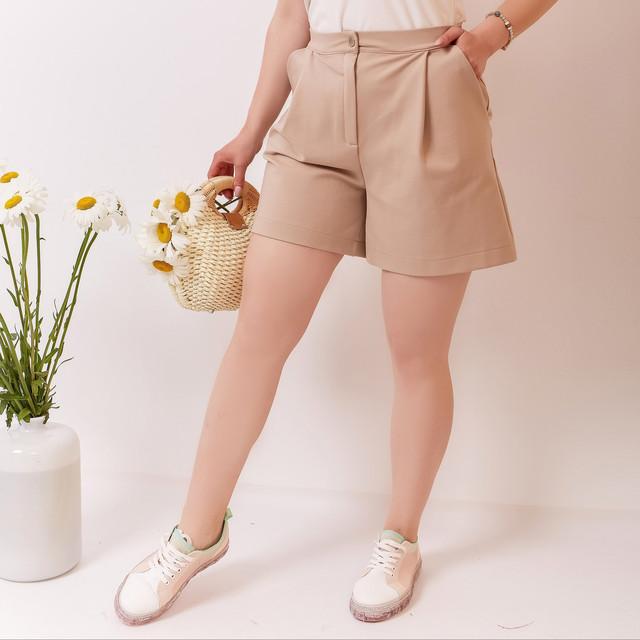Женские батальные шорты
