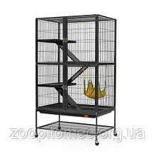 Клетка вольер для средних грызунов кроликов, фредок, морских свинок, шиншилл 80*54*138(104) см