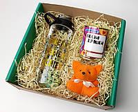 Подарочный набор для самой лучшей: бутылка для воды, консервированные носочки и игрушка-талисман