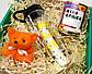 Подарочный набор для самой лучшей: бутылка для воды, консервированные носочки и игрушка-талисман, фото 9