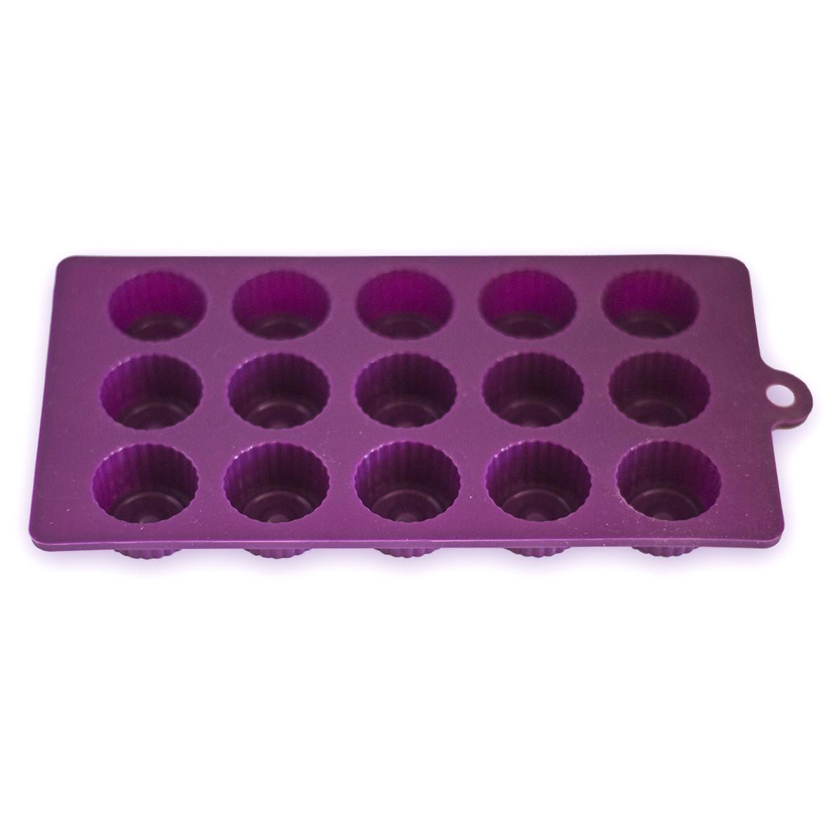 Форма силиконовая для заморозки/духовки на 15 порций 21*10.5*2 см Kamille