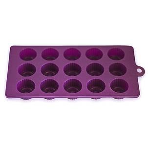 Форма силиконовая для заморозки/духовки на 15 порций 21*10.5*2 см Kamille, фото 2