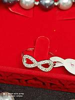 Кольцо женское  родированное медицинское золото XUPING позолота
