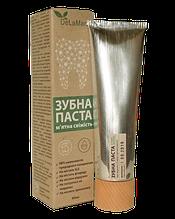 Зубна паста З ароматом м'яти 80мл ТМ DeLaMark