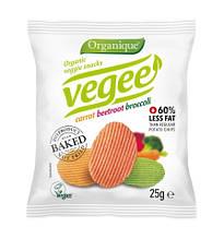 """Картоляні снеки """"Vegee"""" 25г (без глютену) ТМ Mclloyd's"""