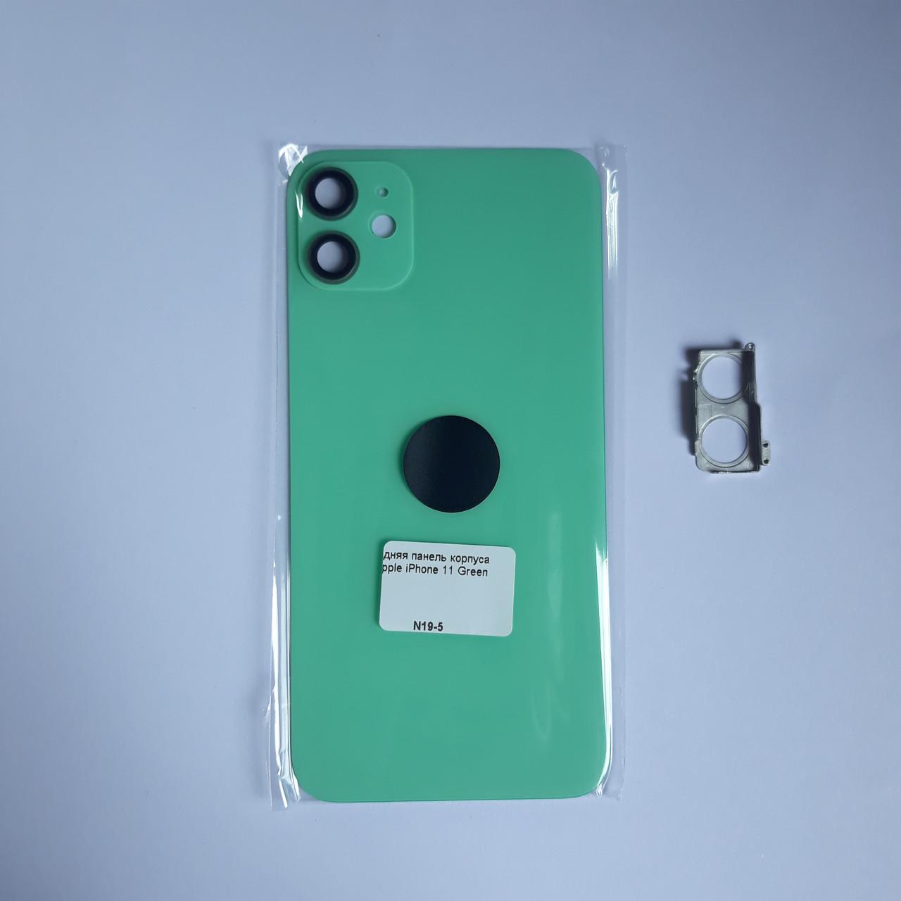 Задняя панель корпуса Novacel для Apple iPhone 11 Green