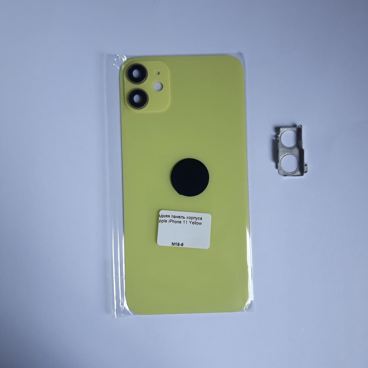 Задня панель корпусу Novacel для Apple iPhone 11 Yellow