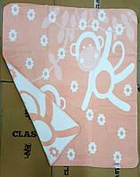 Хлопоковое  детское плед-одеяло теплое 100х120 (TM Zeron)Турция