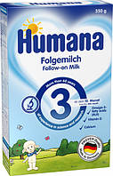 Смесь молочная сухая Humana 3 с пребиотиками галактоолигосахаридами, 350 г
