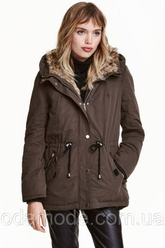 Куртка женская H&M хаки
