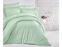 Двуспальный комплект постельного белья из сатина 200х220 (ТМ ARAN CLASY) Mint, Турция