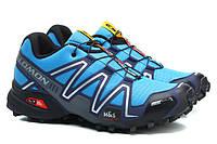 Кроссовки Salomon Speedcross 3 голубые