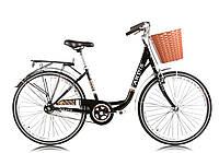 """Городской велосипед ARDIS """"LIDO"""" 26"""" женский со стальной рамой, Черный"""