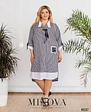 Женское летнее легкое платье,размеры:54,56,58.60,62,64, фото 5