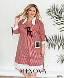 Женское летнее легкое платье,размеры:54,56,58.60,62,64, фото 6