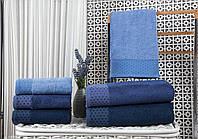 Махровые Бамбуковые полотенца лицевые Турция 50х90 (1шт) 550г/м2 (TM Zeron)