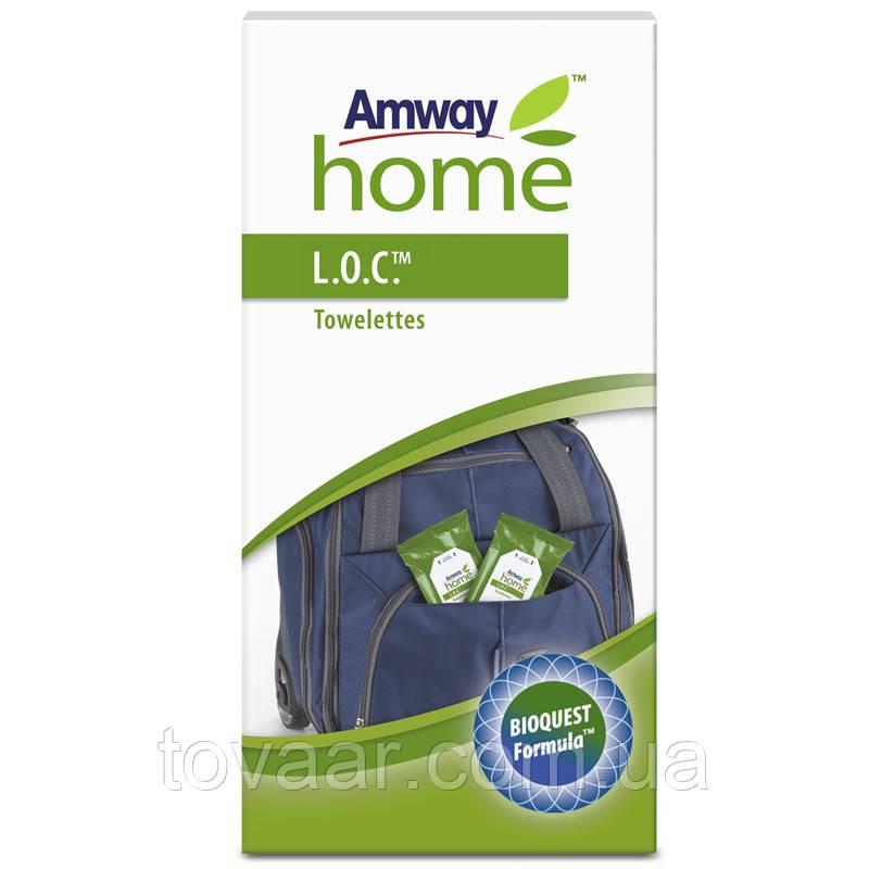 Очищающие влажные салфетки Amway L.O.C.™ (4 шт.)