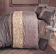 Постельное белье из сатина Турция двухспальное-Евро  200х220 (ТМ ARAN CLASY) Mirace-v1