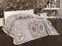 Большое покрывало жаккардовое на кровать 180х260  (TM Alara)  Ibiza, Турция