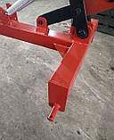 Грабли ворошилки Солнышко на 4 колеса спица ∅6 мм на трактор Грабарка, гребка, сінограбарка, фото 2