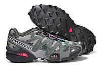 Кроссовки Salomon Speedcross 3 камуфлированные