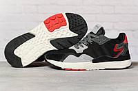 Кроссовки женские 17312 ► Adidas 3M, черные. [Размеры в наличии: 36,37,38,39,40,41], фото 1