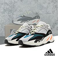Кроссовки мужские(женские) AdidasYeezy Boost 700 Wave Runner Solid Gray серые 36-45размер