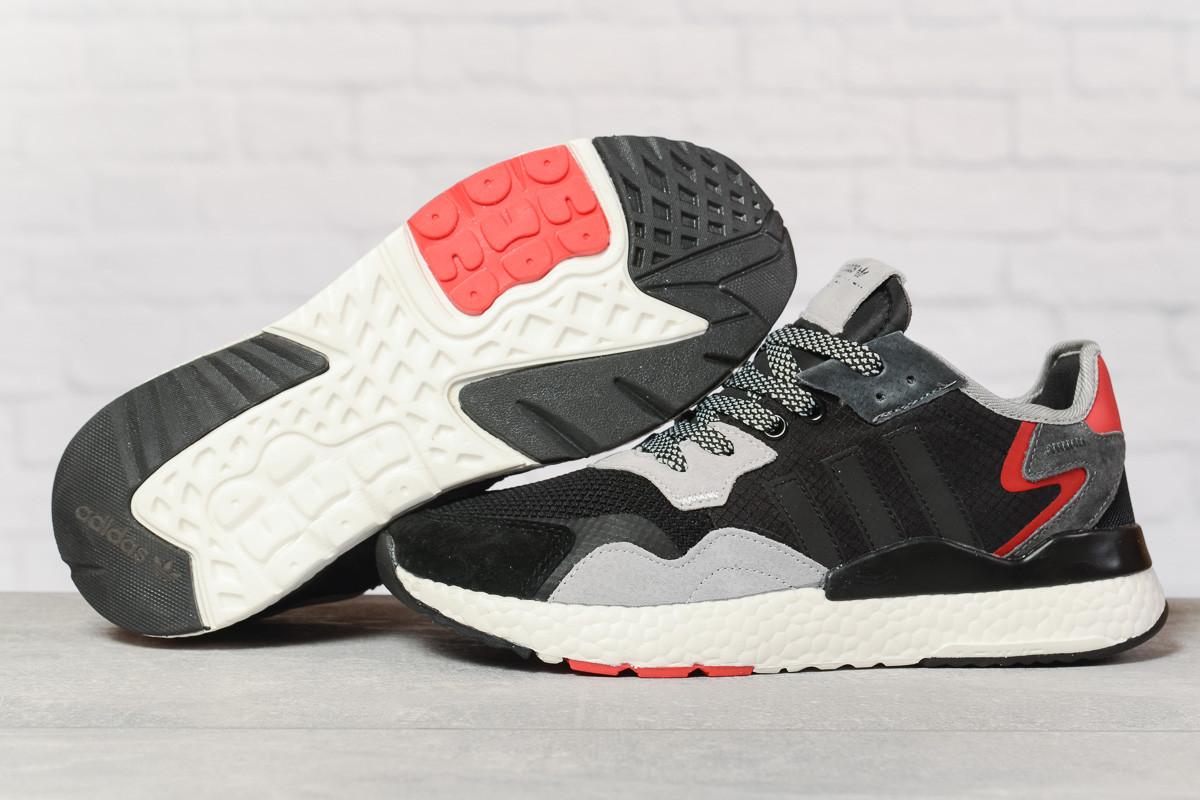 Кроссовки мужские 17302 ► Adidas 3M, черные. [Размеры в наличии: 41,42,44,46]