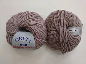 Пряжа для вязания ВВВ Greta Гретта бежевый 8995
