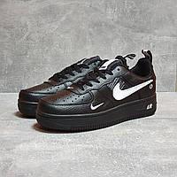 Кроссовки мужские 17502 ► Nike Air, черные. [Размеры в наличии: 44,45,46], фото 1