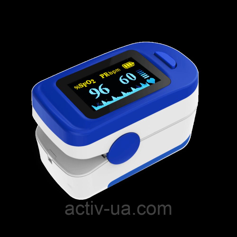 Пульсоксиметр Accurate FS20C цветной OLED дисплей, звуковое сопровождение