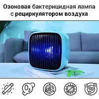 Бактерицидный очиститель-ионизатор воздуха с озоновой УФ лампой и рециркулятором воздуха iCUBE-OZON 101