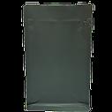 Пакет з плоским дном 130*255 дно (45+45) чорний, бічній zip-замок, фото 2