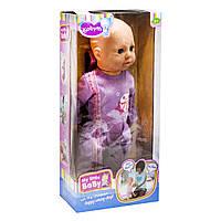 Интерактивная кукла пупс Baby Born для девочек: сама ползает, ходит, копирует поведение младенца