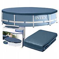 Крышка,тент для каркасного бассейна INTEX  на 366 см, фото 1