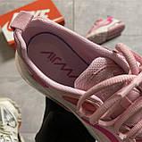 ВИДЕО ОБЗОР🔥 Кроссовки Nike Air Max 270 React Pint White Найк Аир Макс Реакт 270 🔥 Найк женские кроссовки 🔥, фото 2