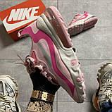 ВИДЕО ОБЗОР🔥 Кроссовки Nike Air Max 270 React Pint White Найк Аир Макс Реакт 270 🔥 Найк женские кроссовки 🔥, фото 10
