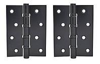 Петля универсальная SAFITA 4BB (ПАРА) 100x75x2,5 черный