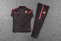 Спортивный тренировочный костюм Рома 18/19 коричневый, фото 1