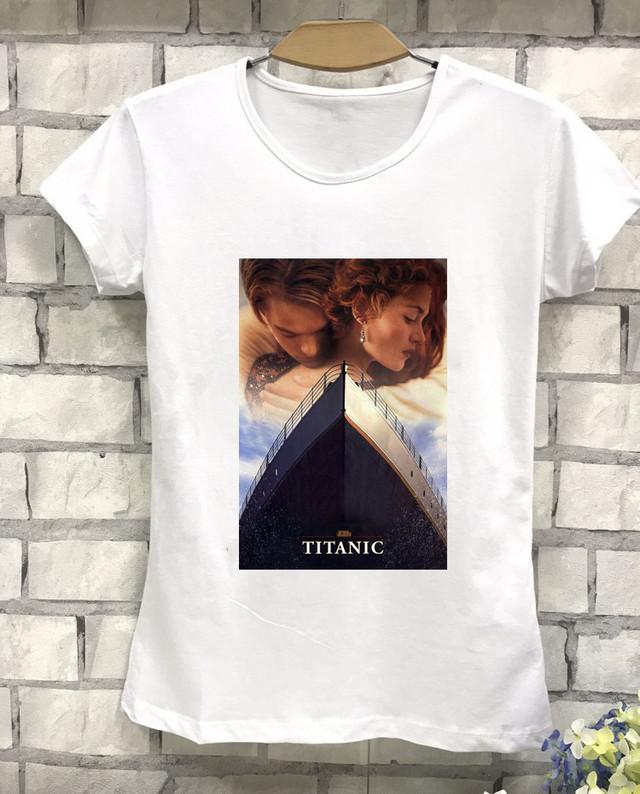 Футболка женская с принтом Титаник