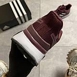 🔥 ВИДЕО ОБЗОР 🔥 Adidas Cloudfoam Mesh Burgundy Адидас 🔥 Адидас мужские кроссовки 🔥, фото 2