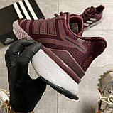 🔥 ВИДЕО ОБЗОР 🔥 Adidas Cloudfoam Mesh Burgundy Адидас 🔥 Адидас мужские кроссовки 🔥, фото 4