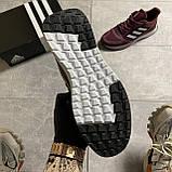 🔥 ВИДЕО ОБЗОР 🔥 Adidas Cloudfoam Mesh Burgundy Адидас 🔥 Адидас мужские кроссовки 🔥, фото 5