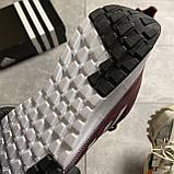 🔥 ВИДЕО ОБЗОР 🔥 Adidas Cloudfoam Mesh Burgundy Адидас 🔥 Адидас мужские кроссовки 🔥, фото 6