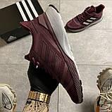 🔥 ВИДЕО ОБЗОР 🔥 Adidas Cloudfoam Mesh Burgundy Адидас 🔥 Адидас мужские кроссовки 🔥, фото 8
