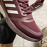 🔥 ВИДЕО ОБЗОР 🔥 Adidas Cloudfoam Mesh Burgundy Адидас 🔥 Адидас мужские кроссовки 🔥, фото 7