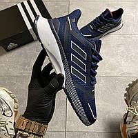 🔥 ВИДЕО ОБЗОР 🔥 Adidas Cloudfoam Mesh Blue Адидас 🔥 Адидас мужские кроссовки 🔥