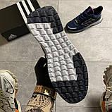 🔥 ВИДЕО ОБЗОР 🔥 Adidas Cloudfoam Mesh Blue Адидас 🔥 Адидас мужские кроссовки 🔥, фото 4