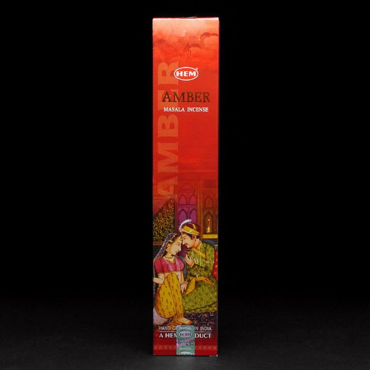 Натуральные пыльцевые благовония Amber (Янтарь) от HEM, 15 грамм