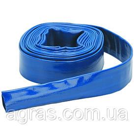 Лейфлет Monoflat  3'', 4атм. Синий, в бухте 100м.  Heliflex (Португалия)